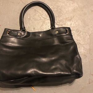 Brand New Black Ann Taylor Leather Bag